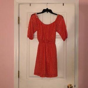 Pink mid dress